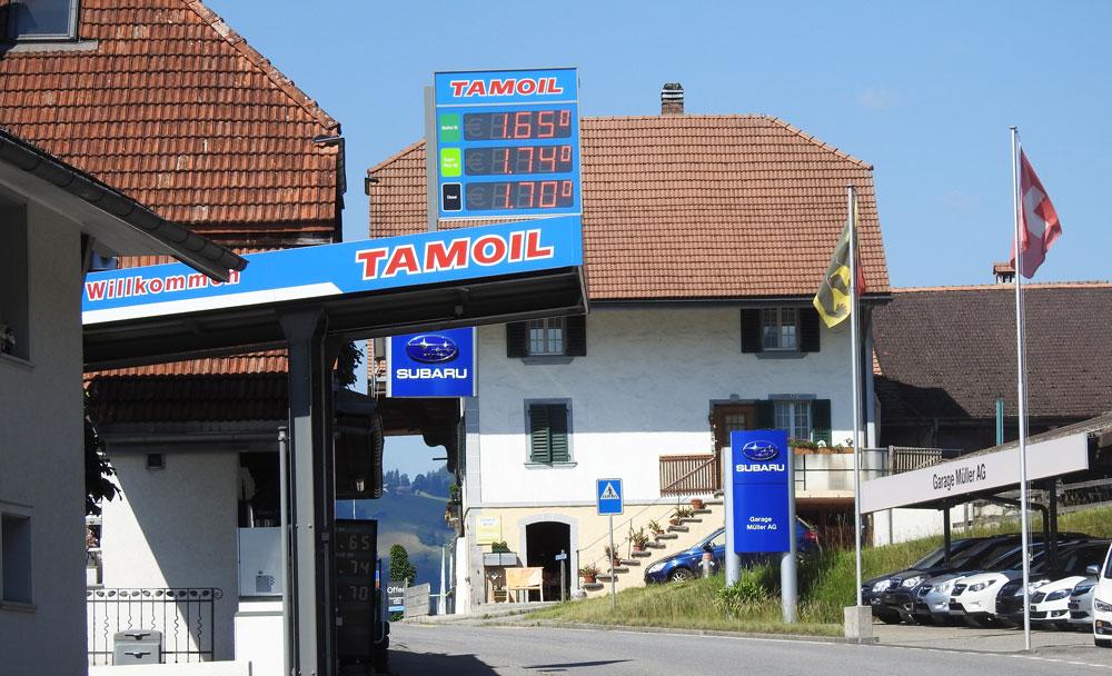 Garage Müller AG - Ihr 4x4 Spezialist mit Tankstelle