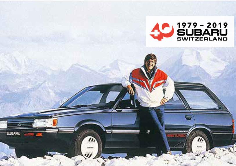 Bernhard Russi - 40 Jahre Subaru Schweiz