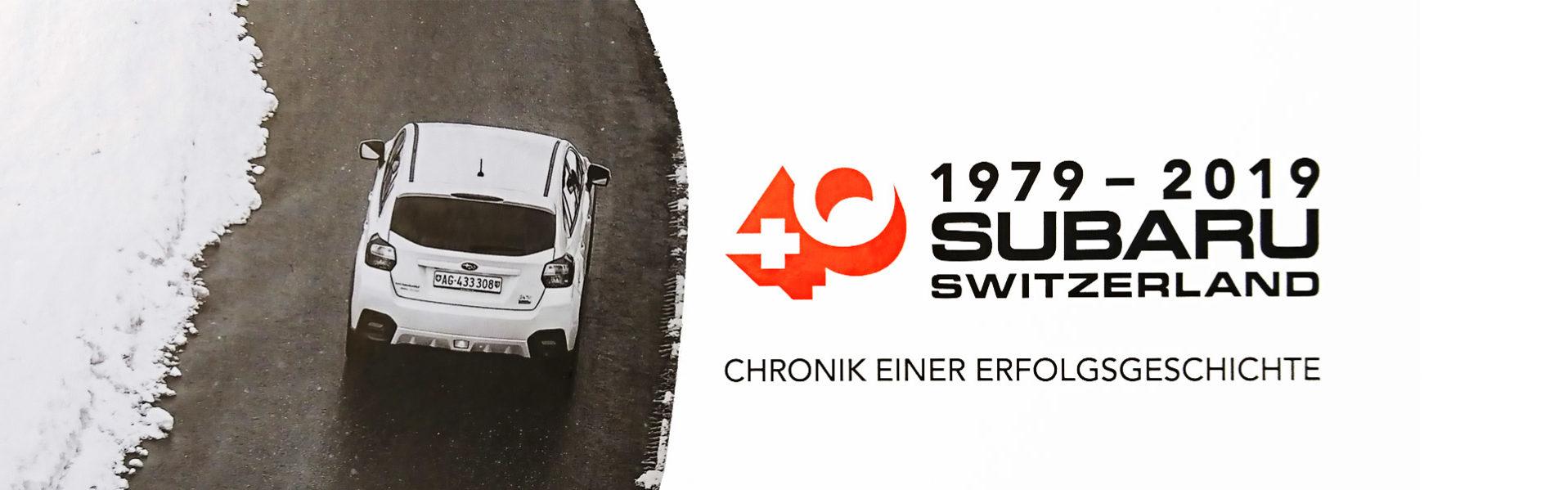 Subaru bewegt und begeistert seit 40 Jahren mit 4x4 Technik