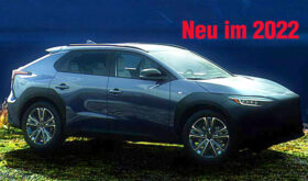 Subaru Solterra neu verfügbar 2022
